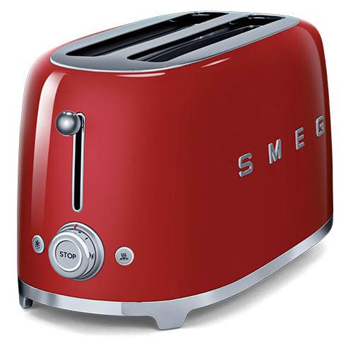 4 scheiben toaster tsf02 von smeg. Black Bedroom Furniture Sets. Home Design Ideas
