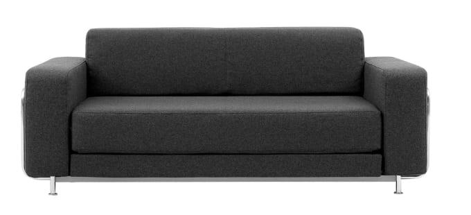 Softline Schlafsofa sofa bed silver by softline