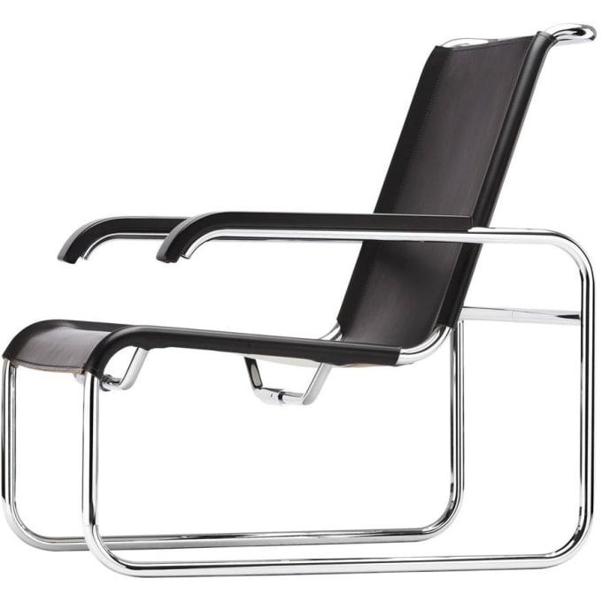 Stahlrohr Sessel s 35 l stahlrohrsessel thonet
