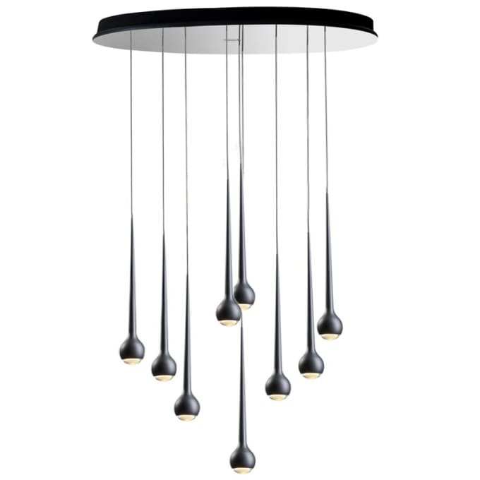falling water pendant by tobias grau. Black Bedroom Furniture Sets. Home Design Ideas
