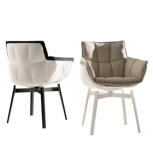 Husk HK1 Outdoor chair by B&B Italia