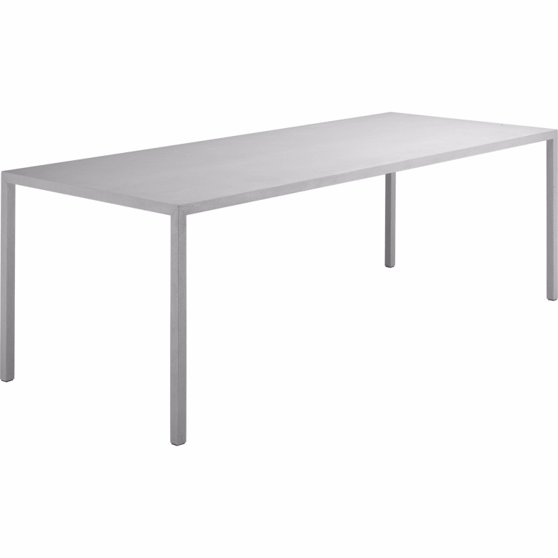Tense material stone table by MDF Italia