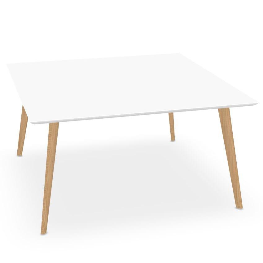 gehr eckiger tisch von arper. Black Bedroom Furniture Sets. Home Design Ideas