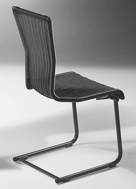 Rundrohr Freischwinger Stuhl Jimmy Von Bacher