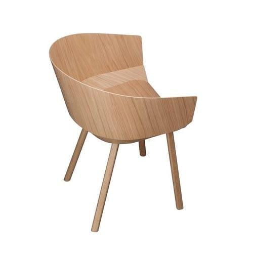 stuhl ch04 houdini mit armlehnen von e15. Black Bedroom Furniture Sets. Home Design Ideas