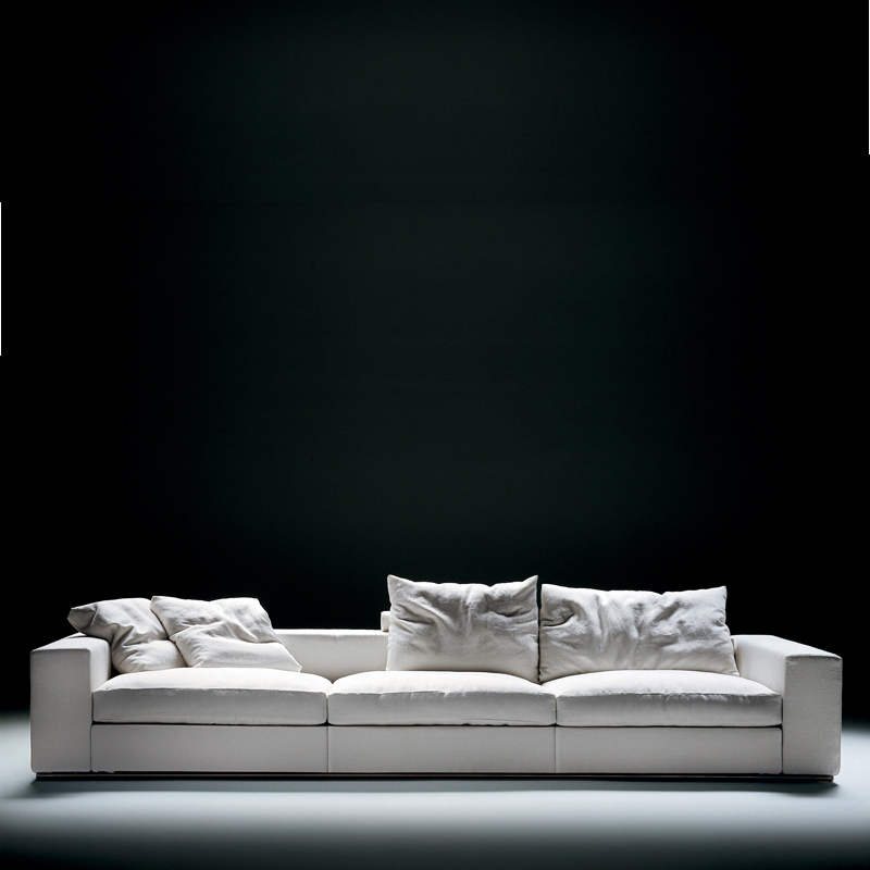 sofa groundpiece von flexform. Black Bedroom Furniture Sets. Home Design Ideas