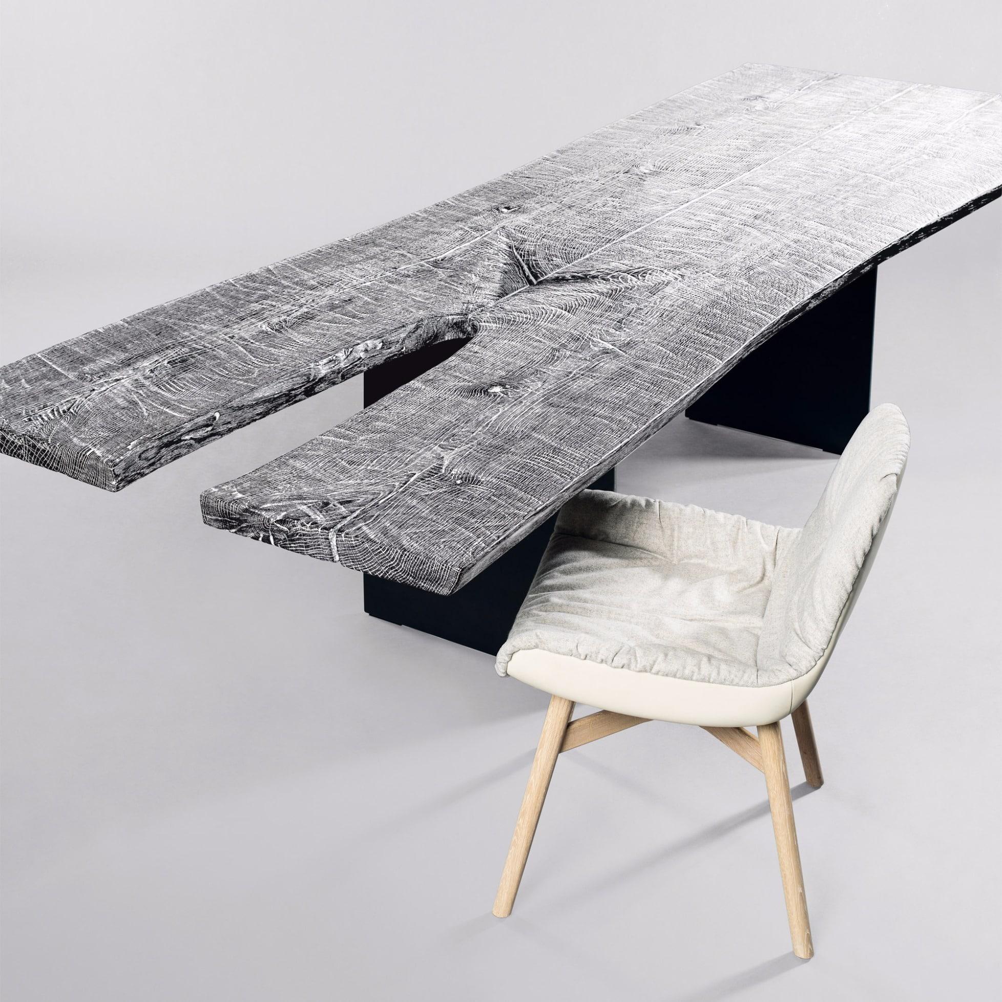 Tisch SK08 Butterfly (gespalten, hell) von Janua