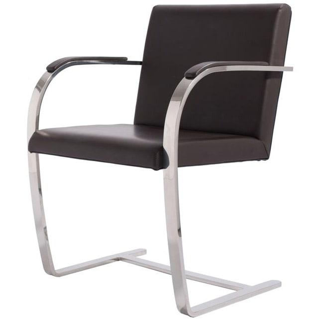 brno stuhl flachstahl von knoll international. Black Bedroom Furniture Sets. Home Design Ideas