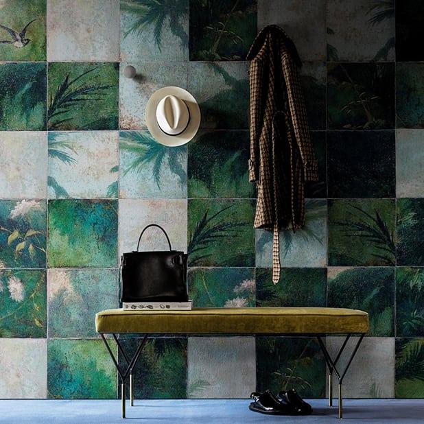 Tapete Exotic Damier von Wall&Deco