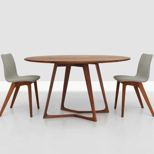 tisch twist round von zeitraum. Black Bedroom Furniture Sets. Home Design Ideas