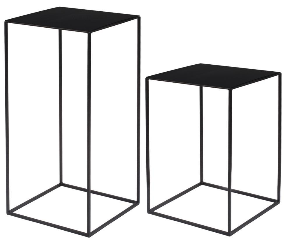 slim irony beistelltische von zeus. Black Bedroom Furniture Sets. Home Design Ideas