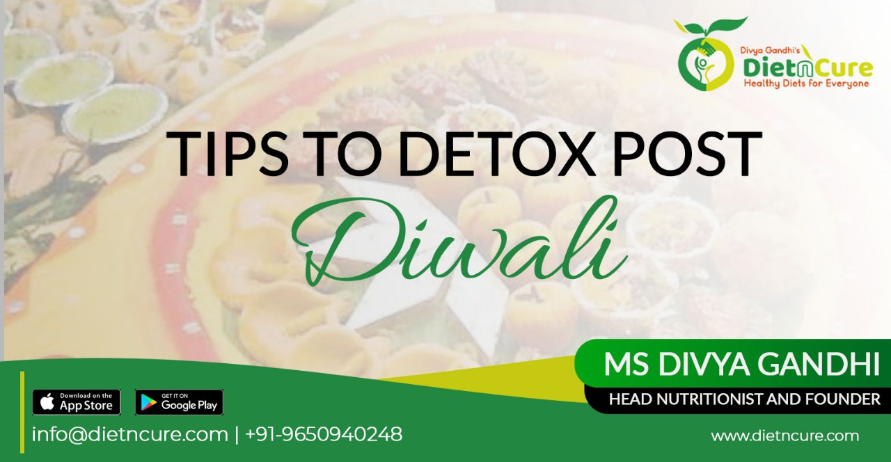 Tips to detox post diwali