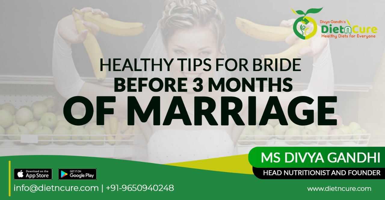 Healthy tips for the bride before 3 months of marriage