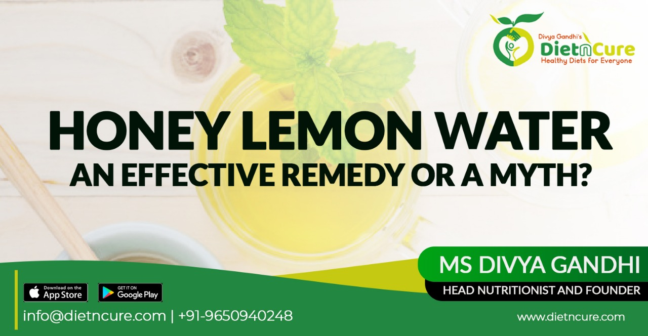 Honey lemon water. An effective remedy or a myth?