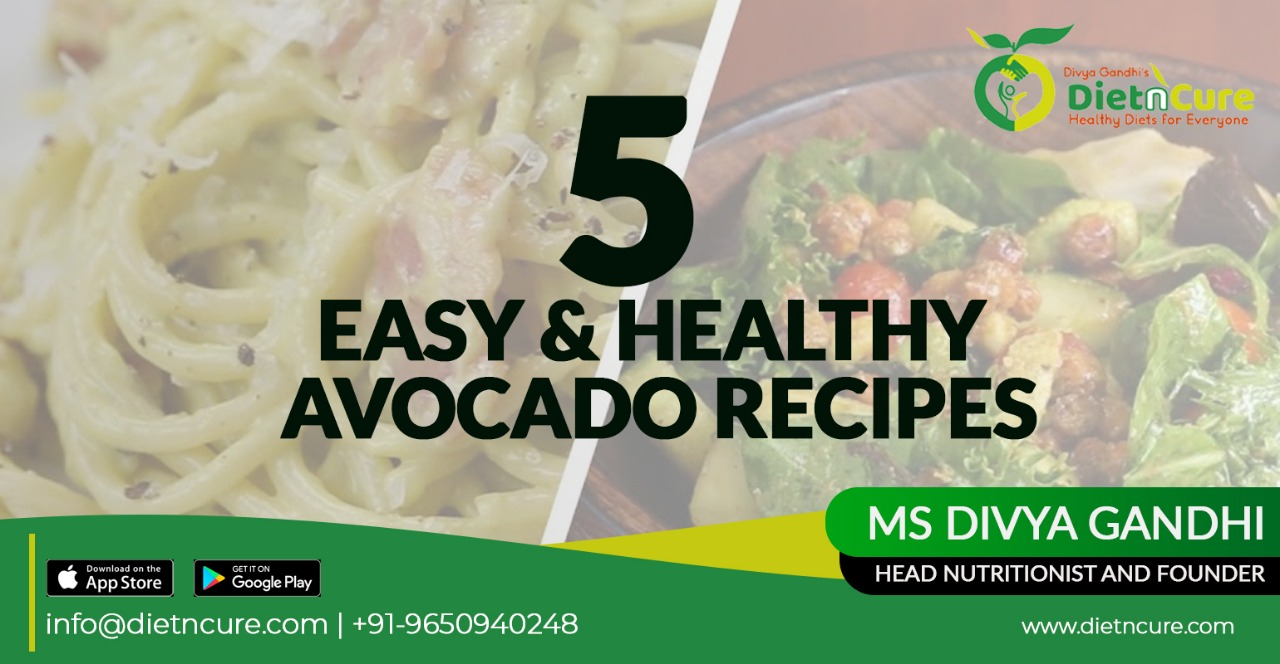 5 easy and healthy avocado recipes