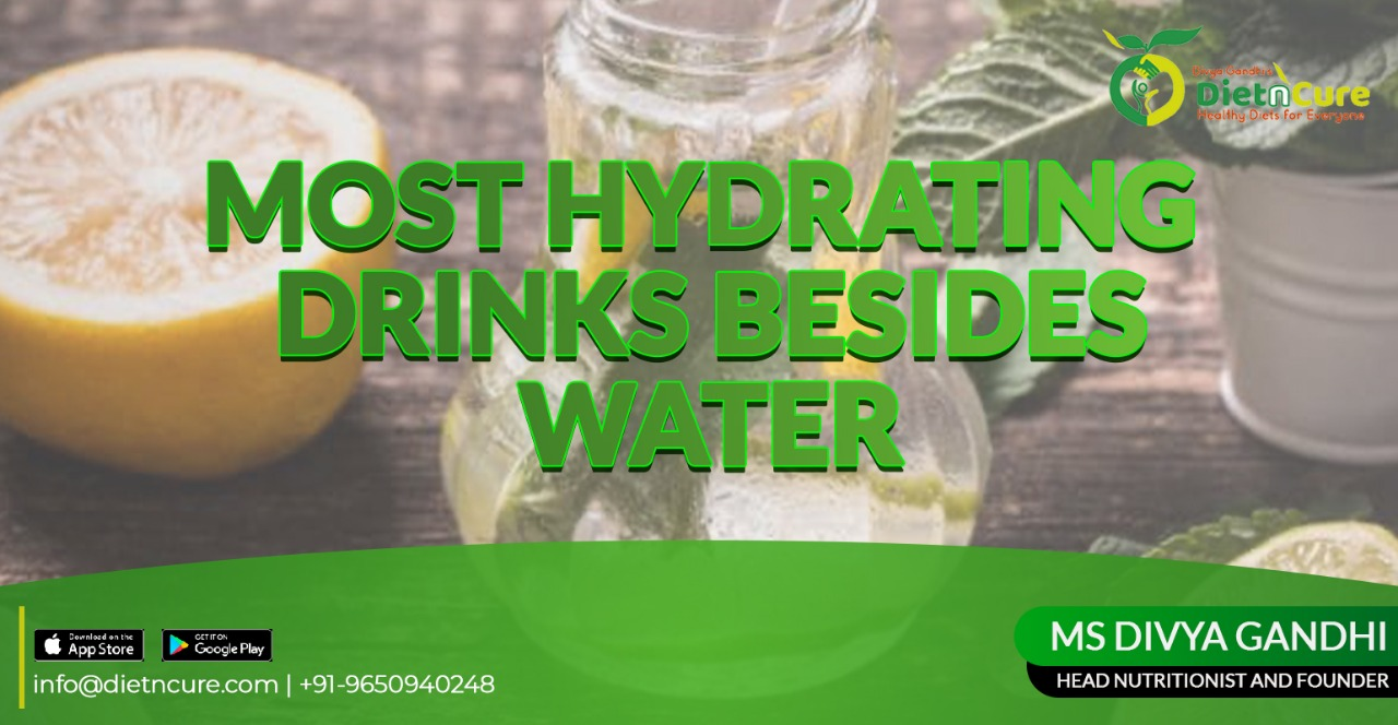 Most hydrating drinks besides the water