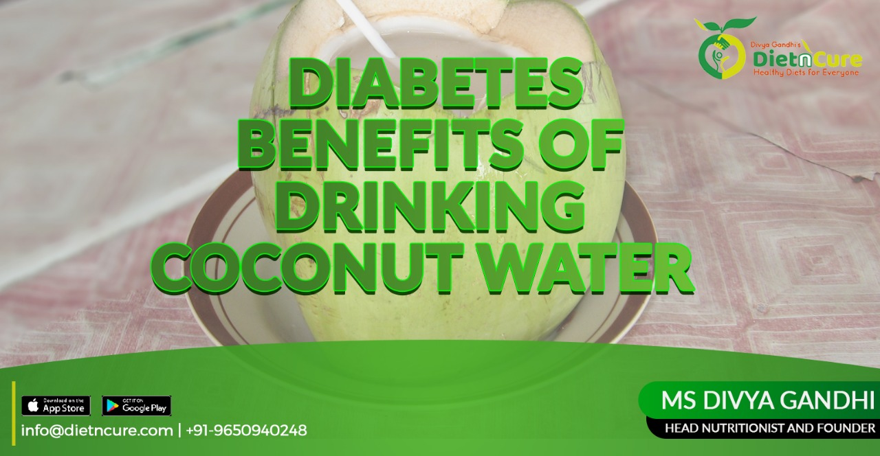 Diabetes benefits of drinking coconut water