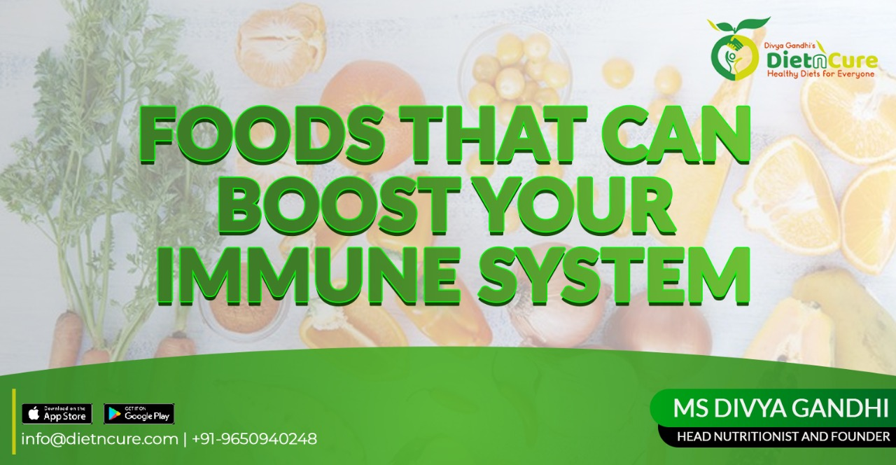 Foods that can boost your immune system