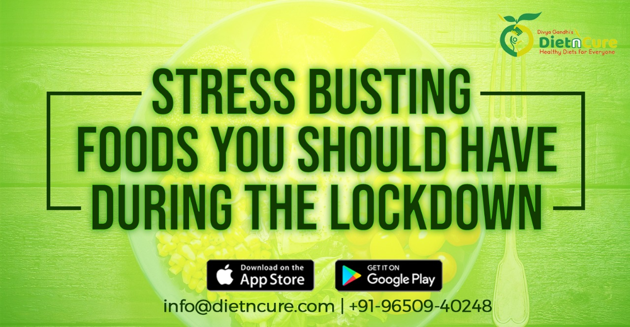 Stress busting foods you should have during the lockdown