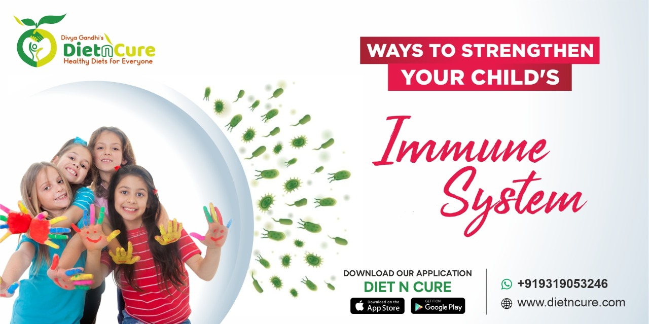 Ways to Strengthen Your Child's Immune System