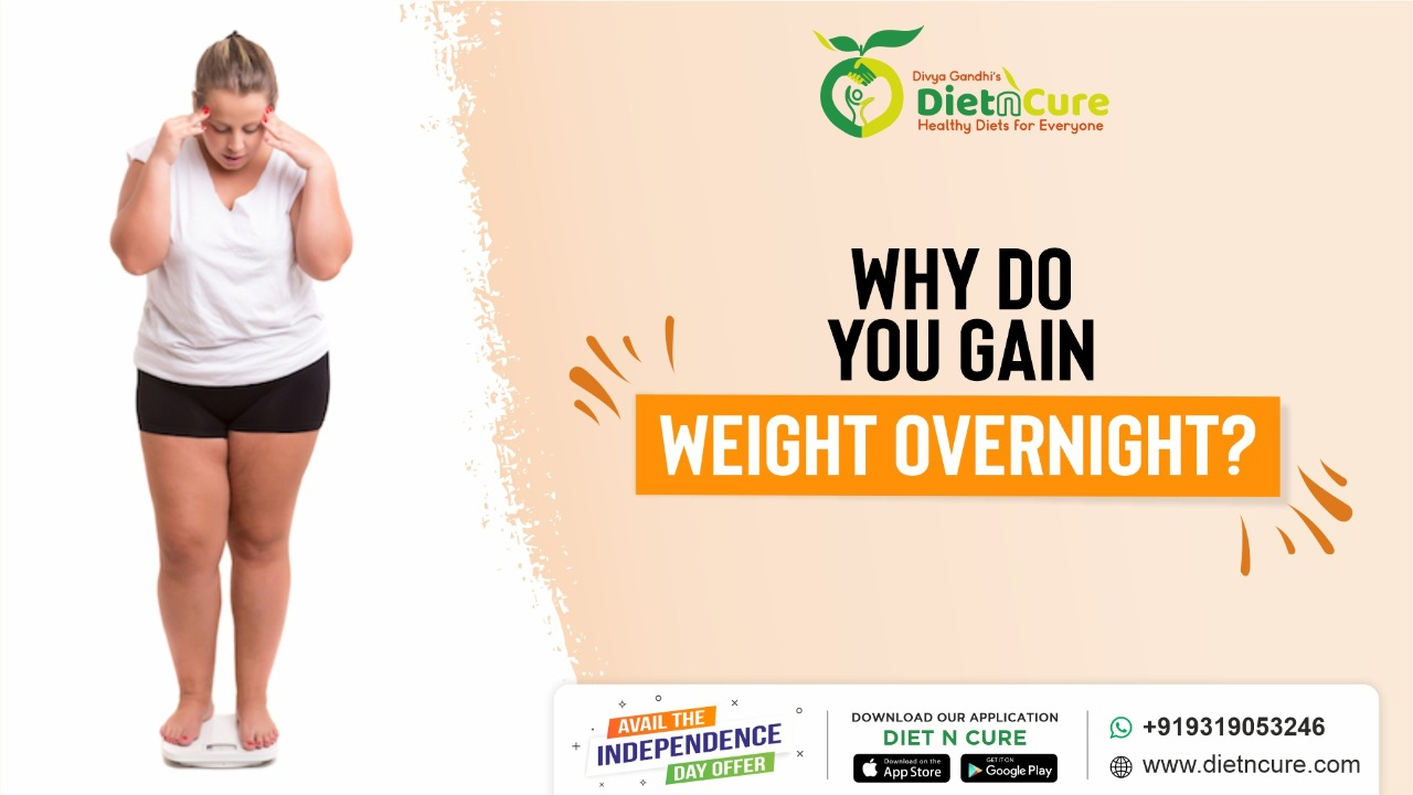 Why do you gain weight overnight?