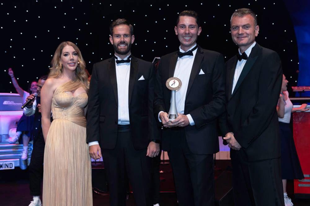 Digital Risks - Cameron Shearer and Ben Rose win British Insurance Awards 2018 Best Insurance Startup