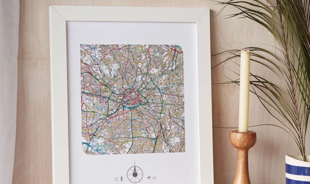 Personalised Map Print