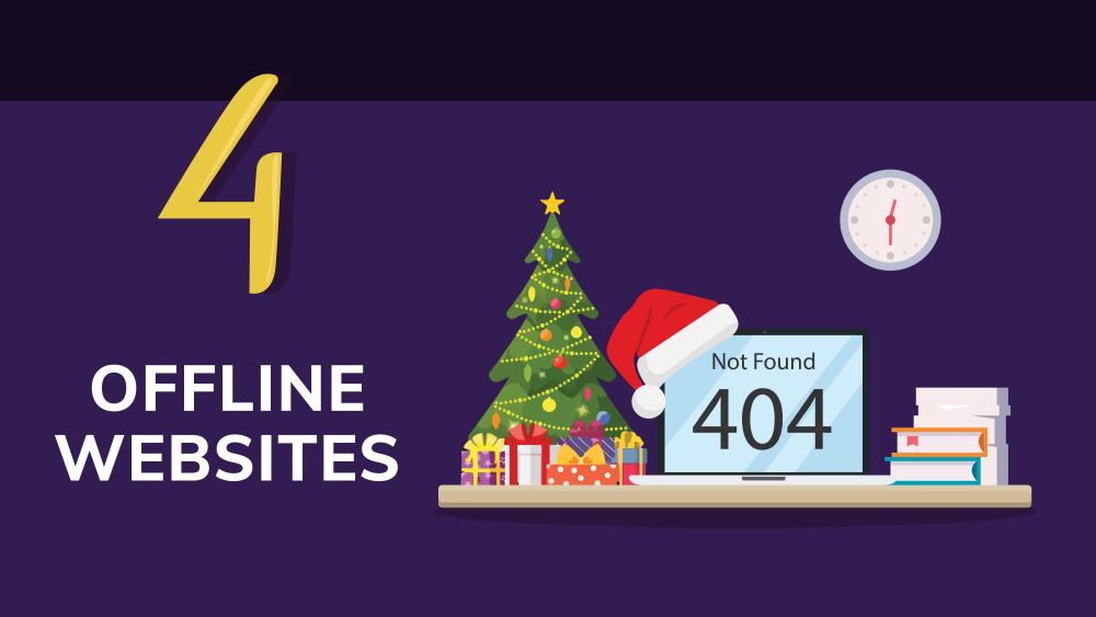 Business risk: offline websites