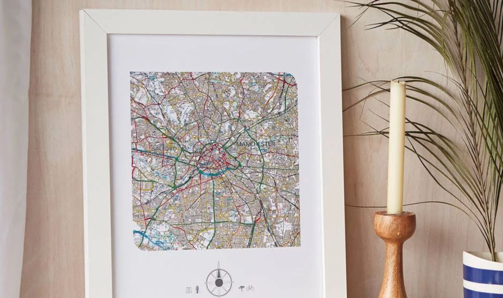 Personalised Map Print