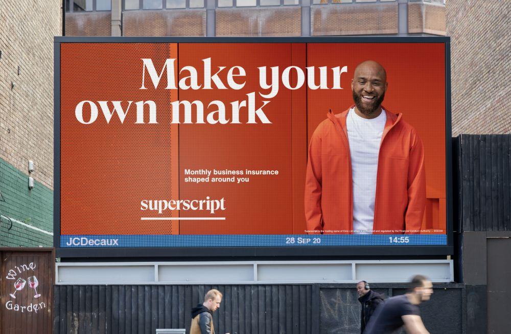 Billboard in London
