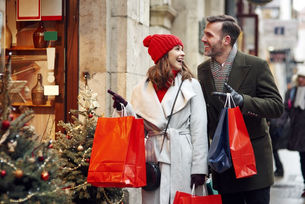 A christmas shopping