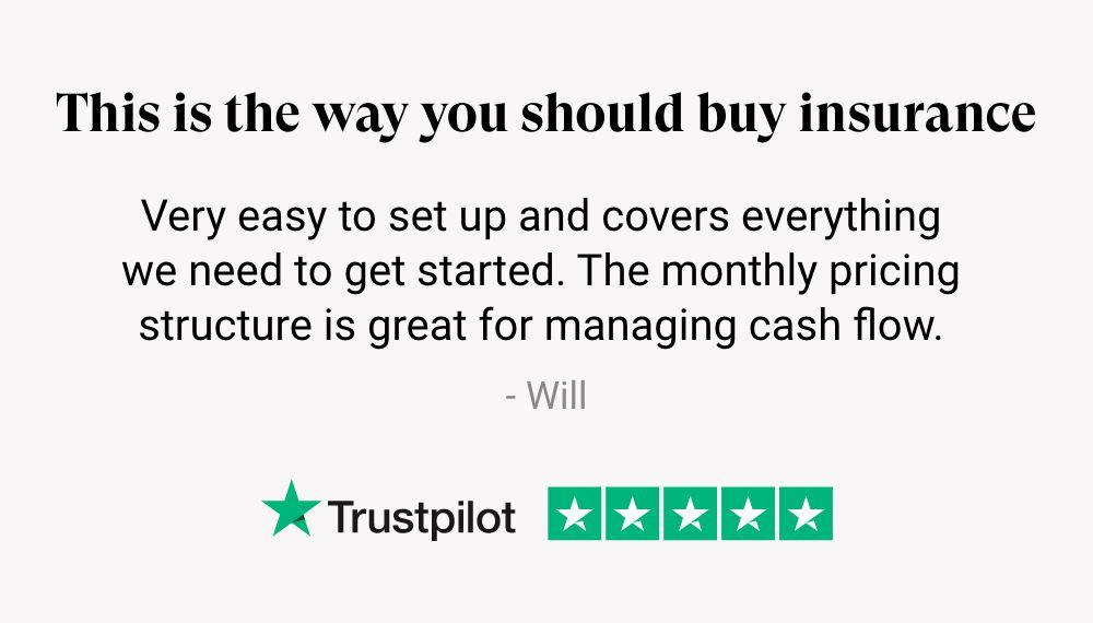 trustpilot business insurance review
