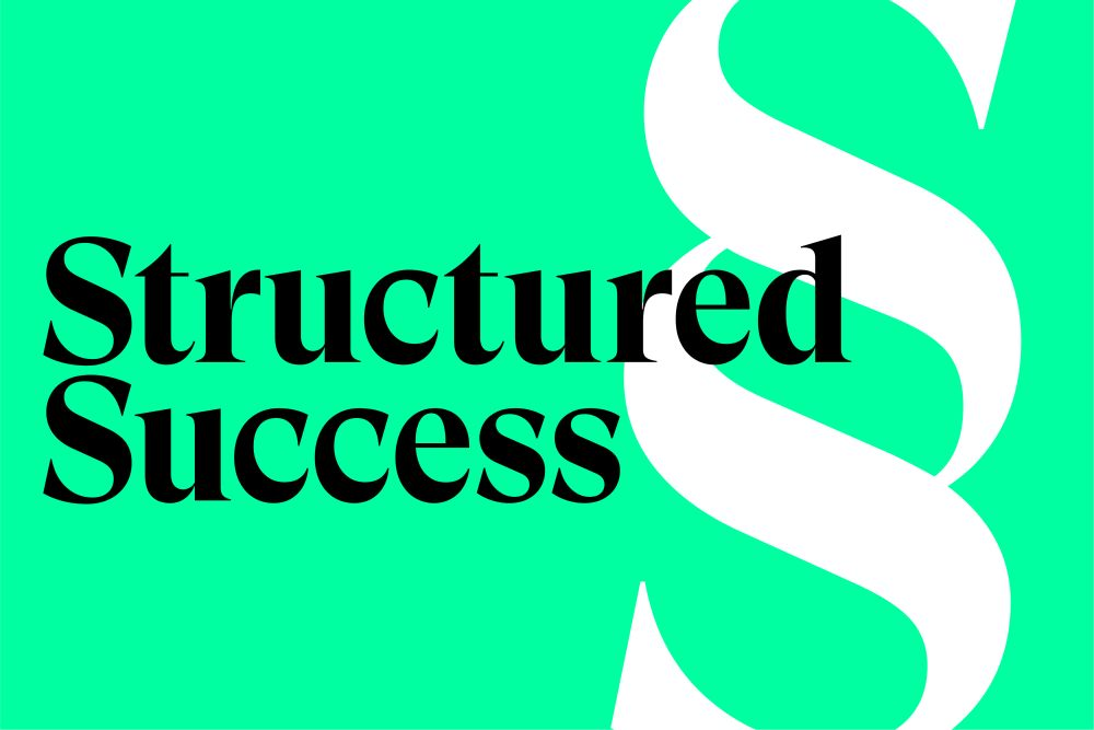 business is personal structured success