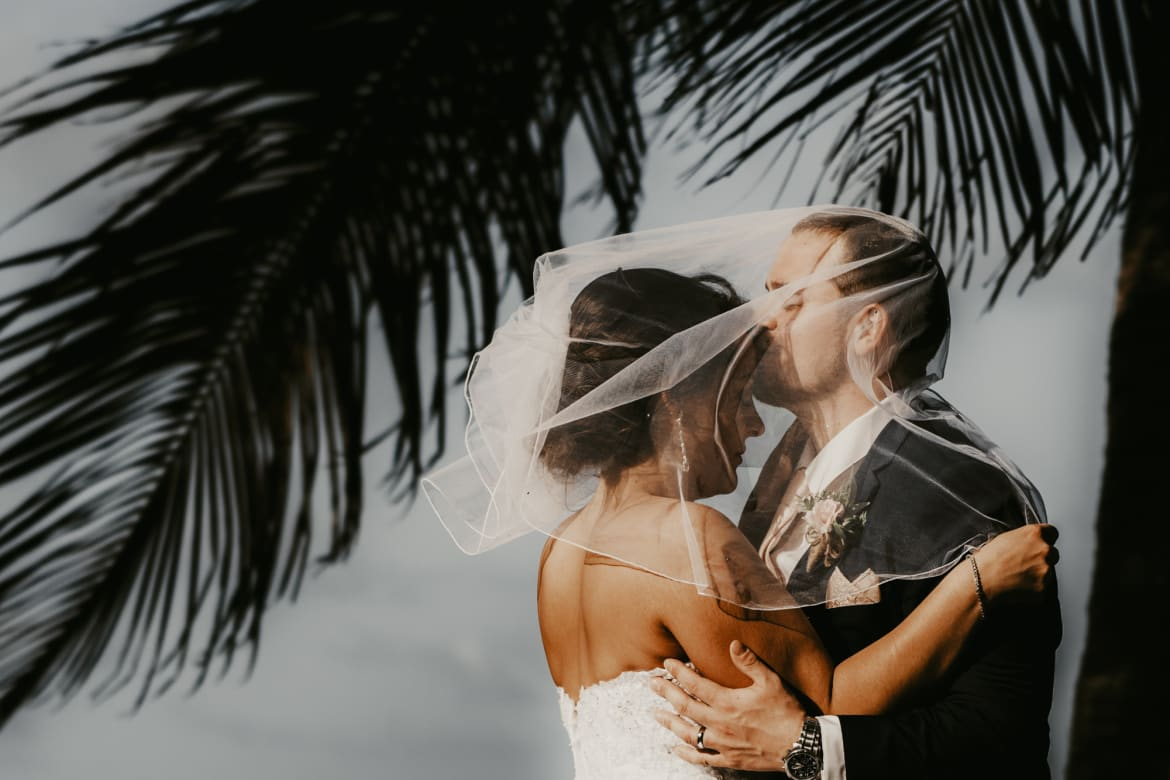 Destination Wedding Photography<br> at St. Lucia from Kayla & Jason's Wedding