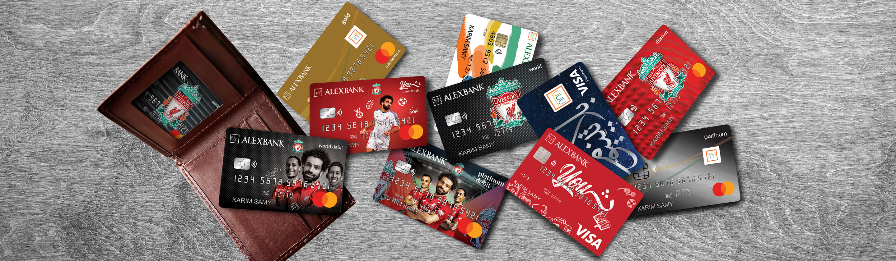 Debit and Credit Cards
