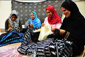DEVELOPING THE HANDICRAFTS SECTOR IN PARTNERSHIP WITH YADAWEYA (2017 - 2019)