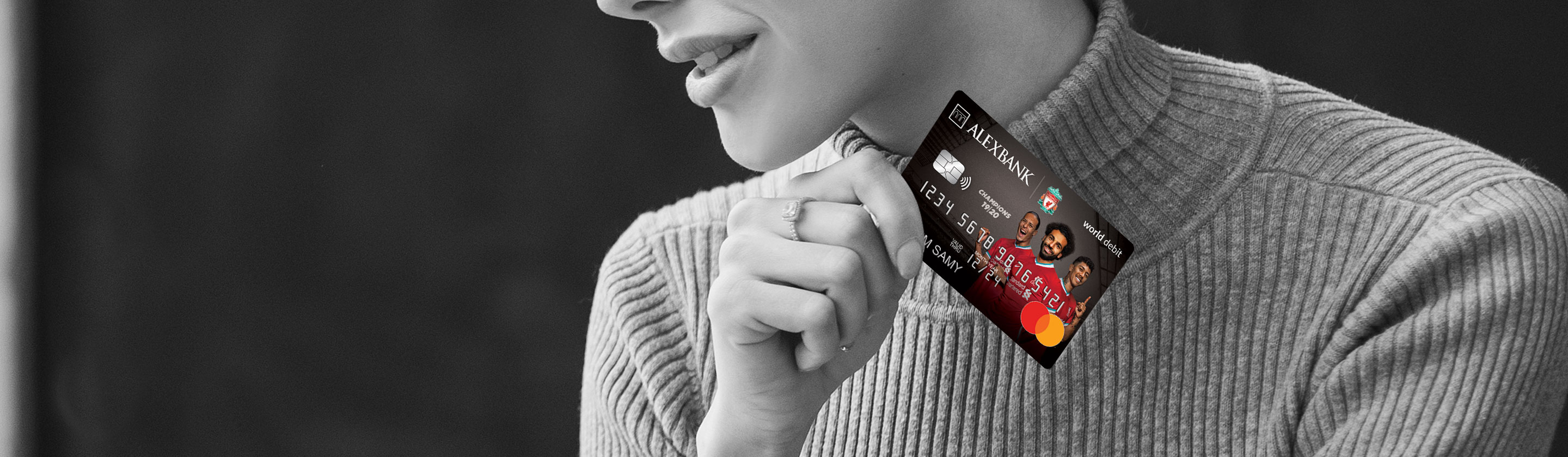 Liverpool World Debit Card