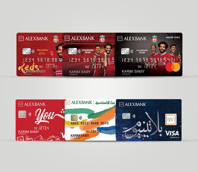 بطاقات الخصم المباشر