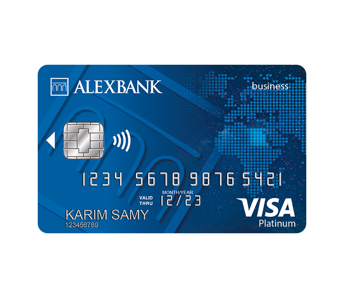 Platinum Business Debit Card