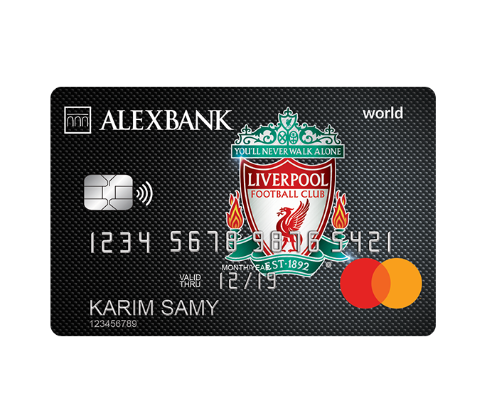 Liverpool FC World Credit Card