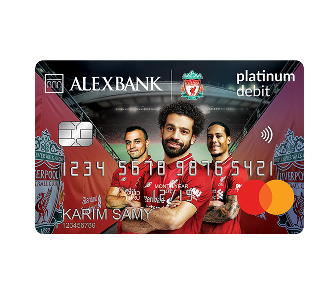 Liverpool Platinum Debit Card