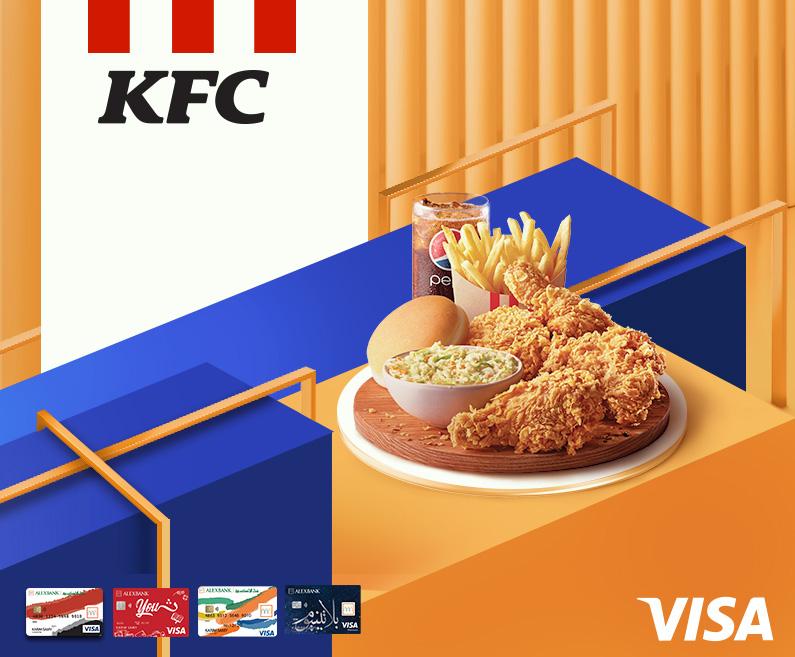 Visa Cards & KFC Offers