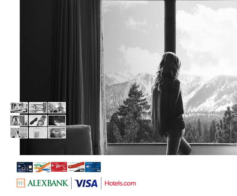 Visa Cards offers with Hotels.com