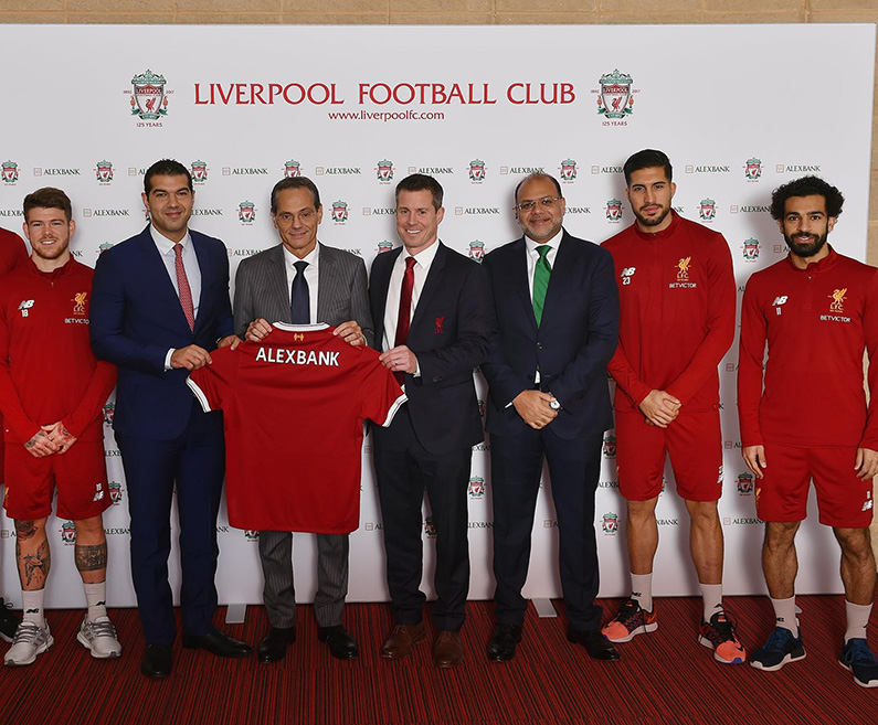 Liverpool FC partnership agreement
