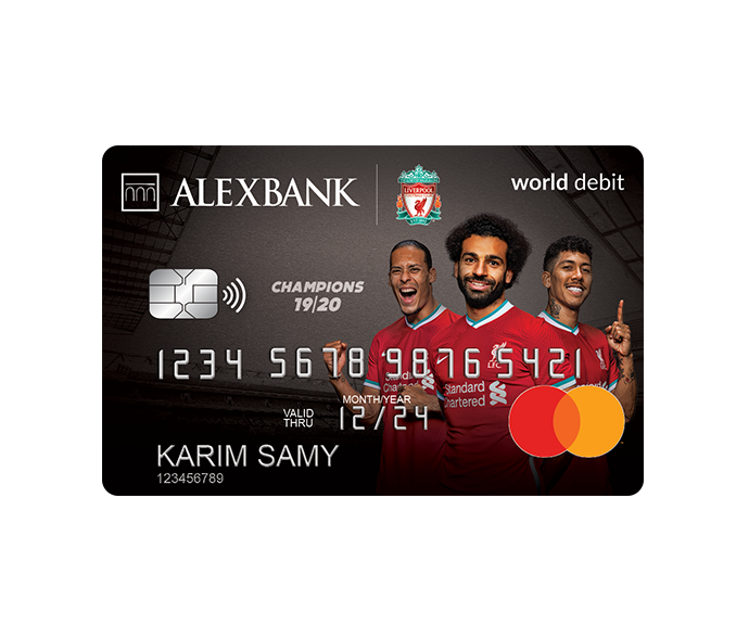Liverpool FC World Debit Card