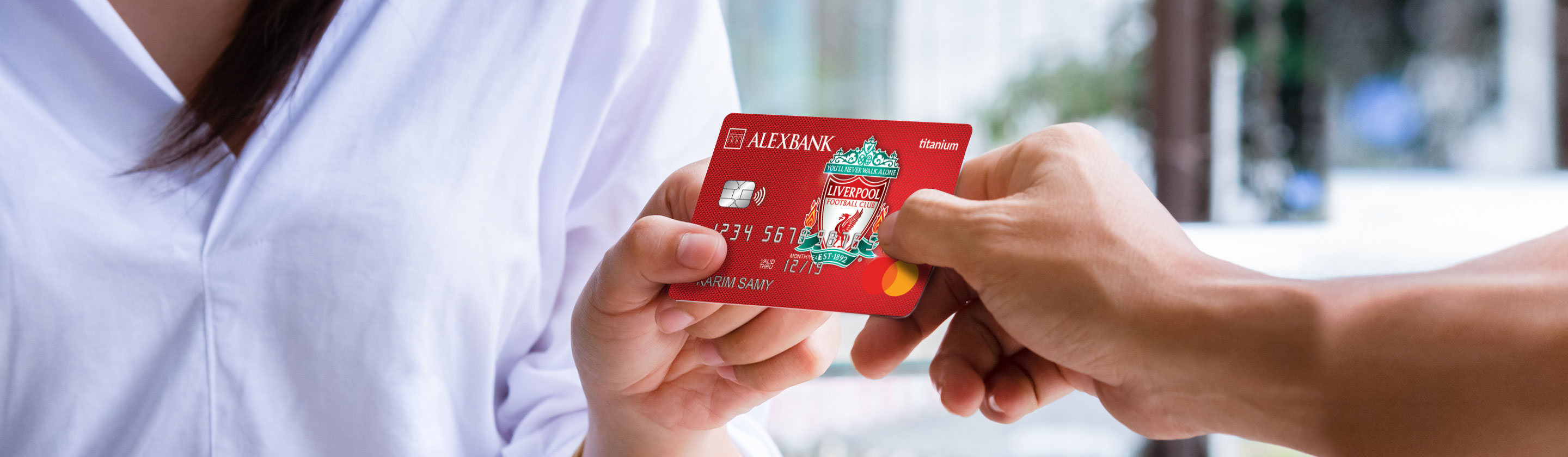 Liverpool Titanium Credit Card