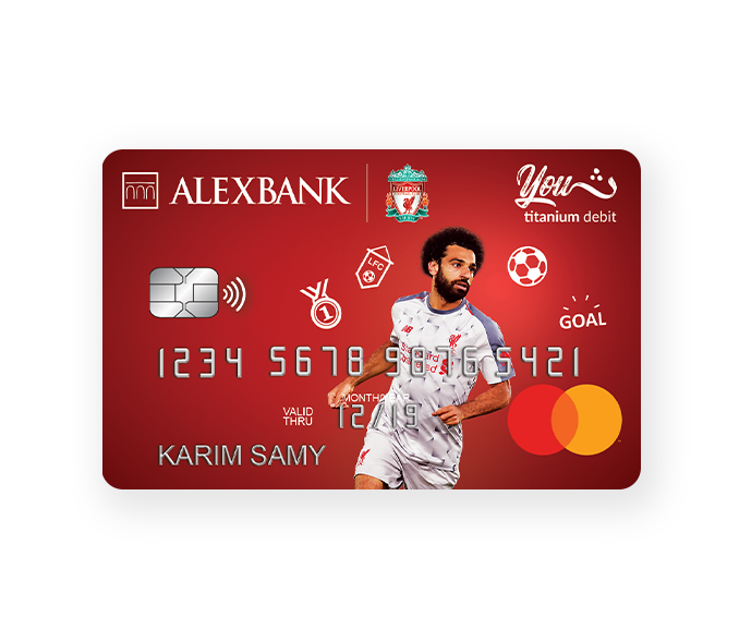 Liverpool Titanium YOUTH Debit Card