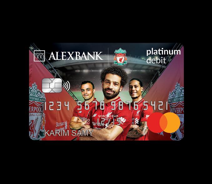 بطاقة ليفربول بلاتينيوم للخصم المباشر