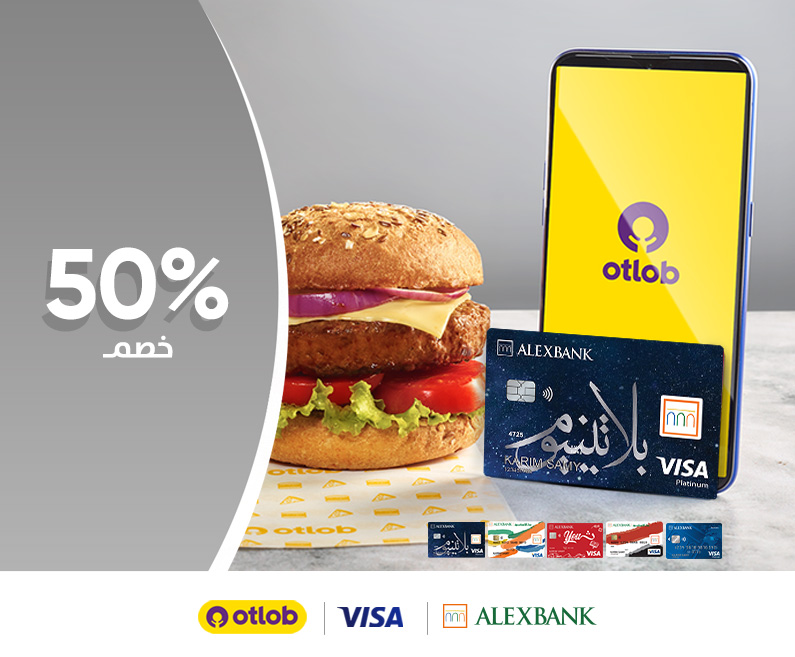 Visa Cards & Otlob offer