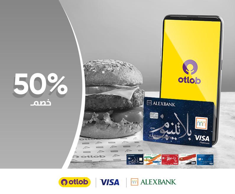 Visa Cards & Otlob offer